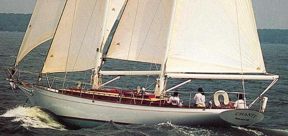 Chanty, 51' Cold-Molded Centerboard Wishbone Ketch