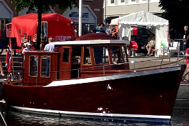 28' traditional displacement workboat