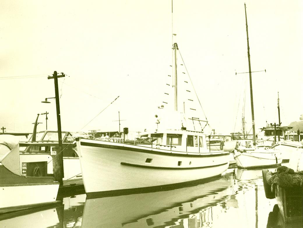 William garden journeyman design for Garden design trawler boat