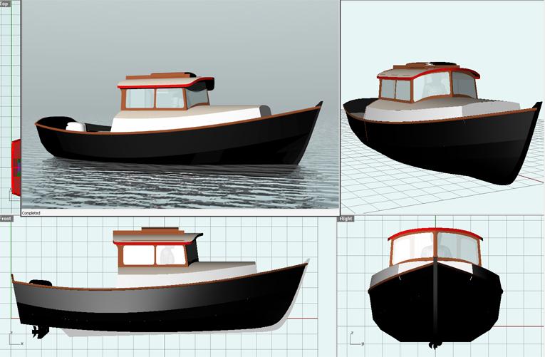 Benadi: Boat plans pocket cruisers