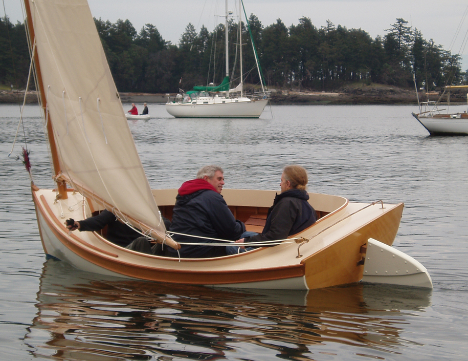 William garden tom cat catboat for Garden design troller boat