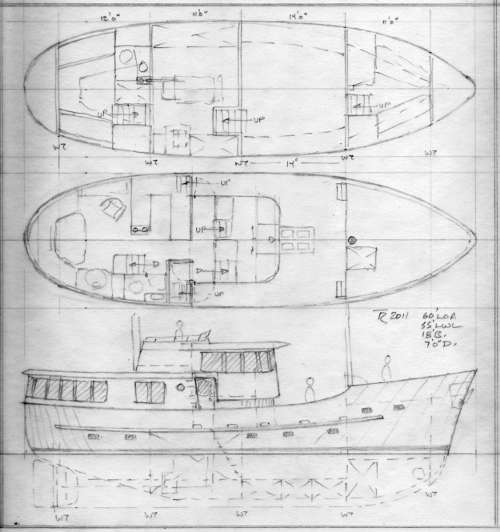 Yacht designs william garden for Bill garden designs