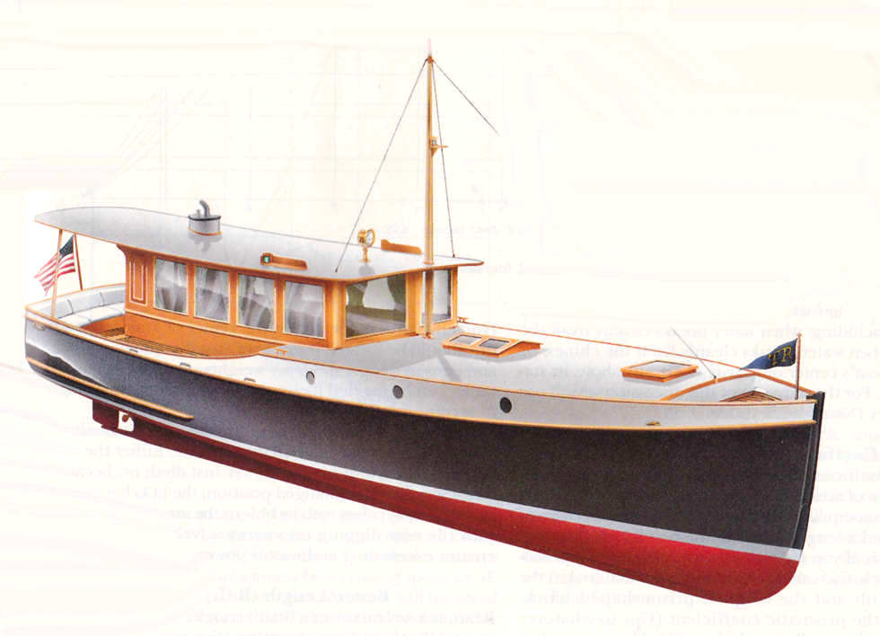 Wedge point 27 semi displacement trailerable classic for Table design yacht