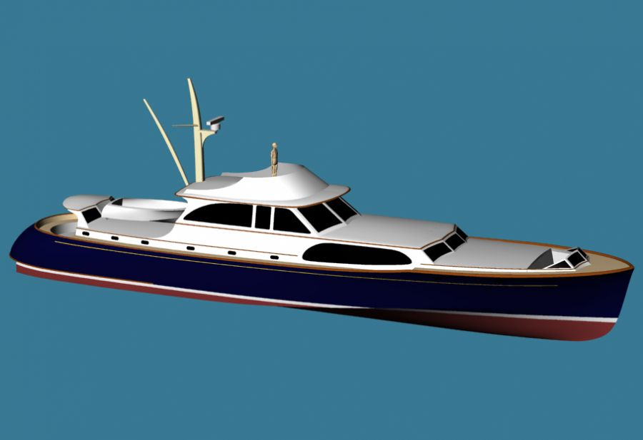 Classic commuter boat plans | Antiqu Boat plan