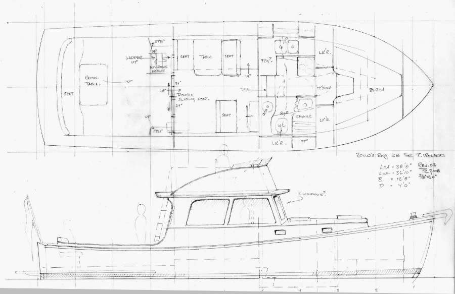 John's Bay Boat Lobsteryacht 32 ~ Power Boat Designs by ...