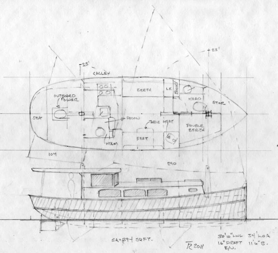 Sail Boat Designs over 30'~ Tad Roberts Yacht Design