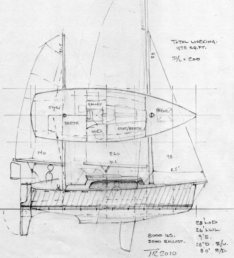jonny salme: Cool Micro cruiser sailboat plans
