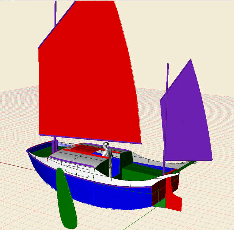 16 Tiny Harry Sailing Scow Small Boat Designs By Tad