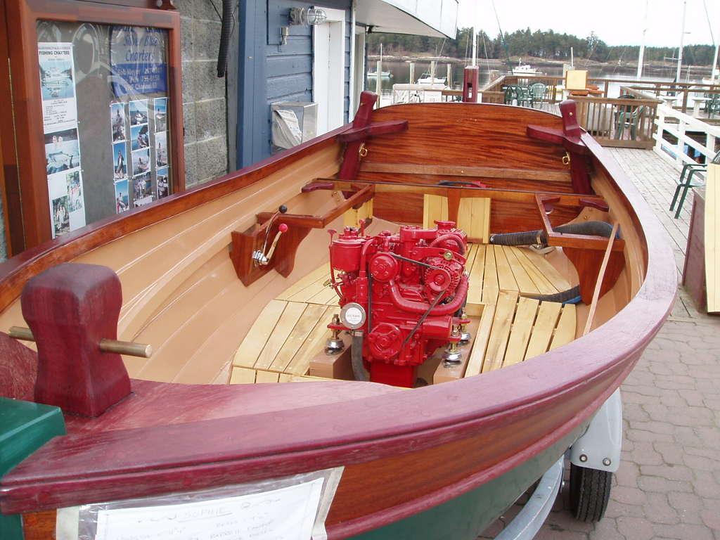 Jigger 11' tender, workboat, tug. Traditional design ...