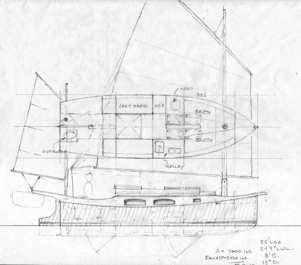 plywood barge boat plans