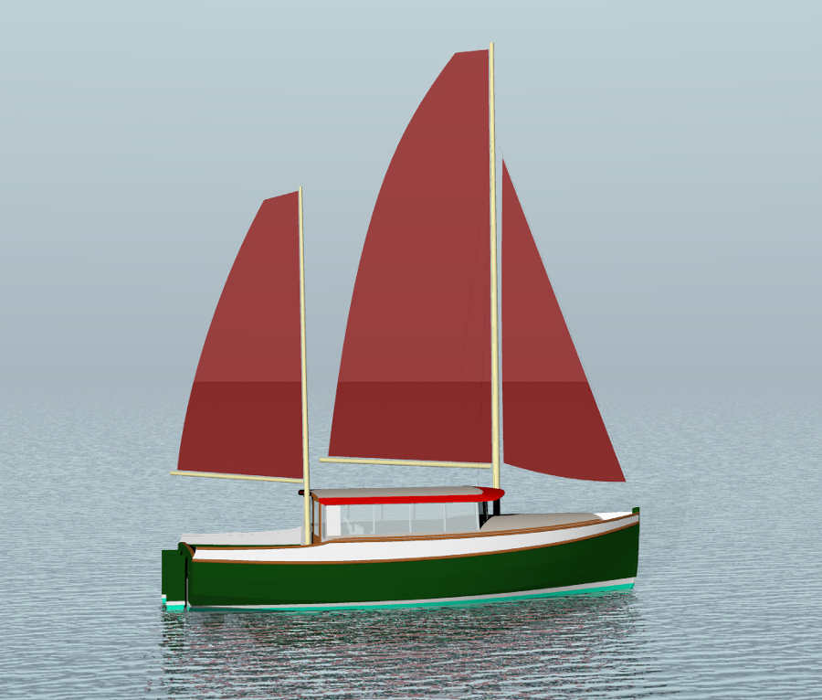 plywood yacht designs