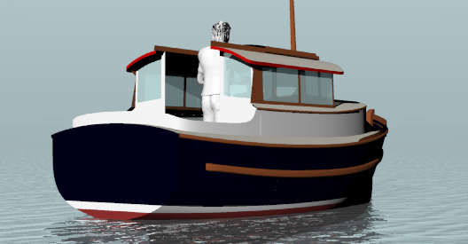 ... Type ~ Displacement Boats Under 29'~ Small Boat Designs by Tad Roberts