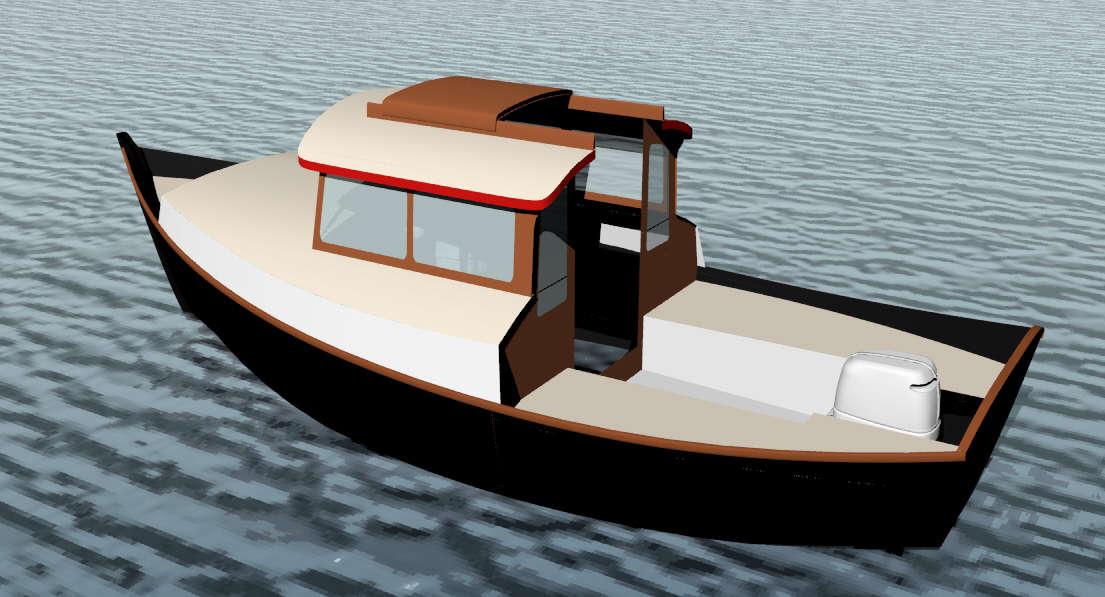 Free Pocket Cruiser Building Plans | Free Boat Plans TOP