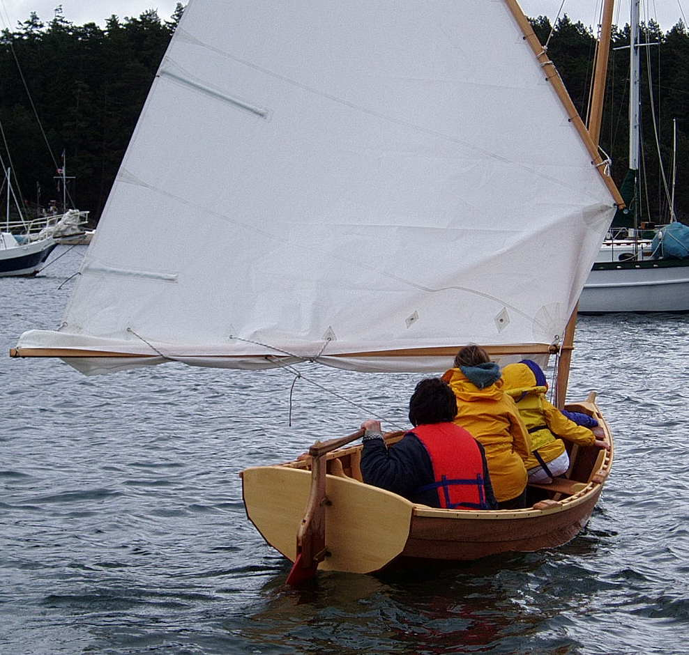 Small open boat plans Marget
