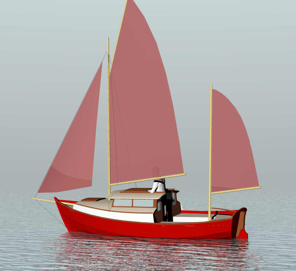 Small Yacht Kitchen Design: Sail Boats Under 29'~ Small Boat
