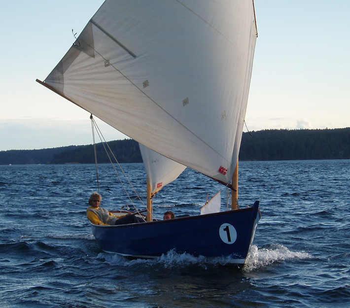 Ratty, 20' Lug-rigged Cat Ketch ~ Sail and Oar Boats ~ Tad Roberts Small Boat Designs