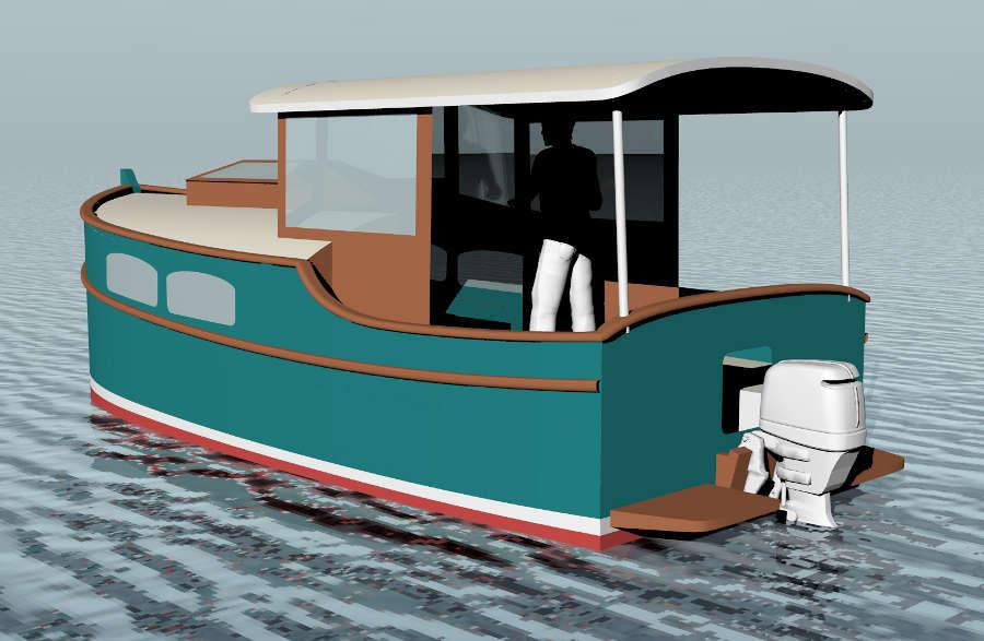 Cruising power boat plans | Kose