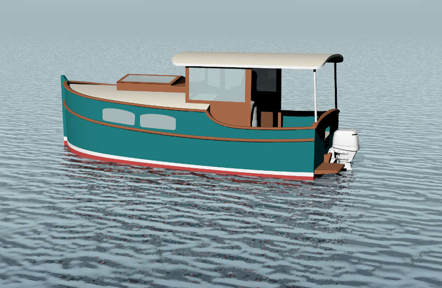 Boat House Drawings - House Design And Decorating Ideas