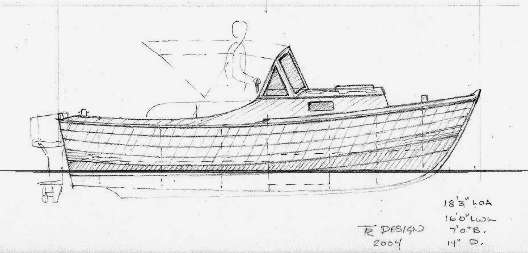 Small runabout boat plans kits