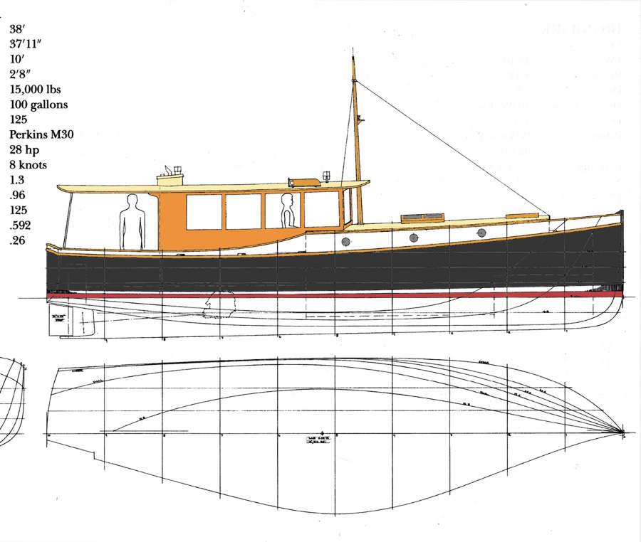 Memory 44 Classic Express Motor Yacht Power Boat