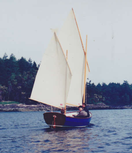 Ratty 20 Lug Rigged Cat Ketch Sail And Oar Boats Tad Roberts Small Boat Designs